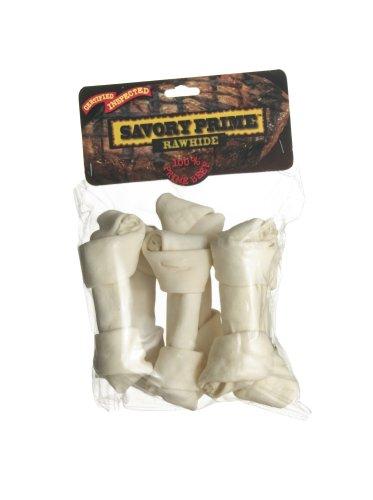 Savory Prime Medium Bone Value-Pack, White, My Pet Supplies