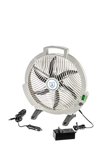 attwood 9040-4 Ultimate Rechargeable Fan - 12