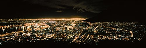 Posterazzi PPI154822S Aerial View of a City from Signal Hill Town Western Cape Province South Africa Poster Print, 27 x 9 (Aerial View Of Cape Town South Africa)