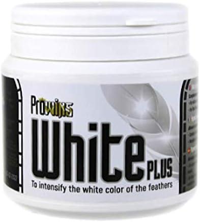 mercasystems.com White Plus 300gr, (intensifica el Color Blanco de Las Plumas de los Canarios y mosaicos)