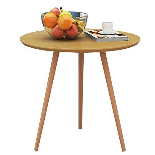 Small Round Coffee Table Size: Amazon.com: HAIPENG Small Round Coffee Side End Tables For