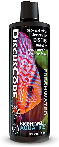 2 L Brightwell Aquatics DiscusCode Trace /& Minor Elements for Discus /& Other South American Riverine Fishes