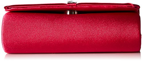 Clutch Katie McClintock Satin womens Raspberry Jessica 068fw