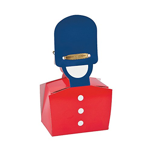 Fun Express - Royal Baby Shower Favor Boxes for Baby - Party Supplies - Containers & Boxes - Paper Boxes - Baby - 12 Pieces