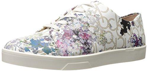 Calvin Klein Women's Imilia Fashion Sneaker, Natural, 7.5 M US