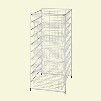 ClosetMaid, 17 In. Drawer Kit With 5 Wire Baskets
