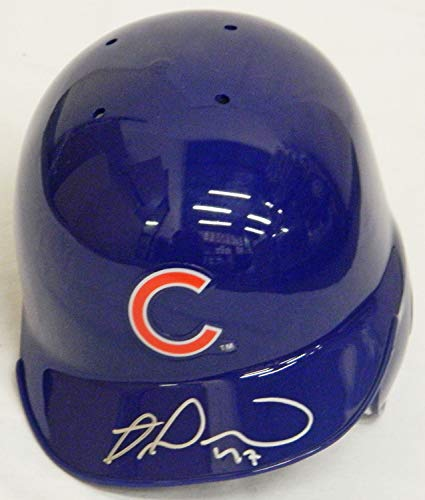 - Miguel Montero Autographed Signed Chicago Cubs Riddell Mini Batting Helmet