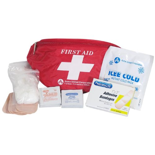 (PhysiciansCare First Aid Fanny Pack, Contains 49 Pieces)