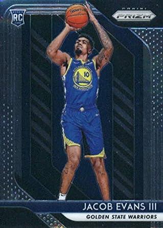 2018-19 Panini Prizm  212 Jacob Evans III RC Rookie Golden State Warriors  NBA 40ef14054