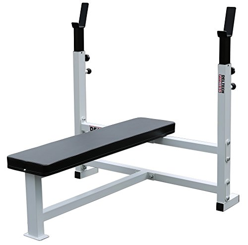 Deltech Fitness Flat Olympic Weight Bench by Deltech Fitness (Image #3)