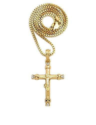 ifix Jesus Cross Pendant with 2mm 24