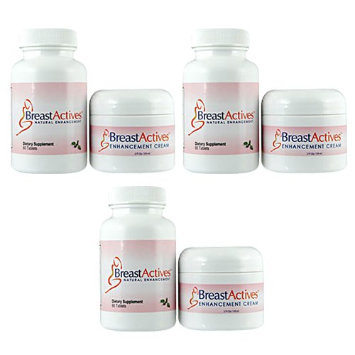Breast Actives Combo Pack Triple Pack Buy Online In Bahrain