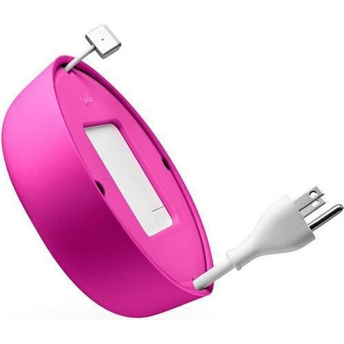 Quirky Pprcp-60pk Powercurl V2 Pop Macbook Power Cord Wrap, Pink