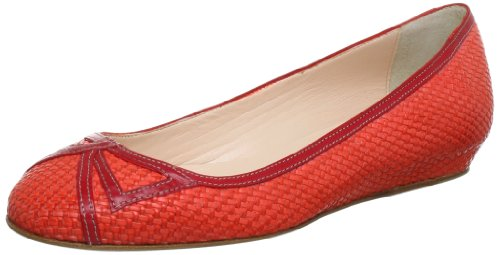 rosso valentino Rosso Donna Ballerine In Mirror rot Objects B120 wxPR8g0Xq