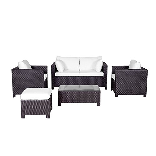 - Milano 5 Piece Deep Seating Group with Cushion