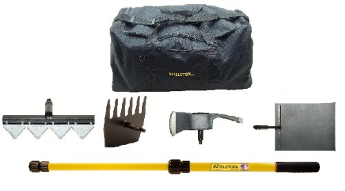 Inteletool Telescopic Wildfire Fighting Tool Kit with sheaths and Duffel Bag by Inteletool