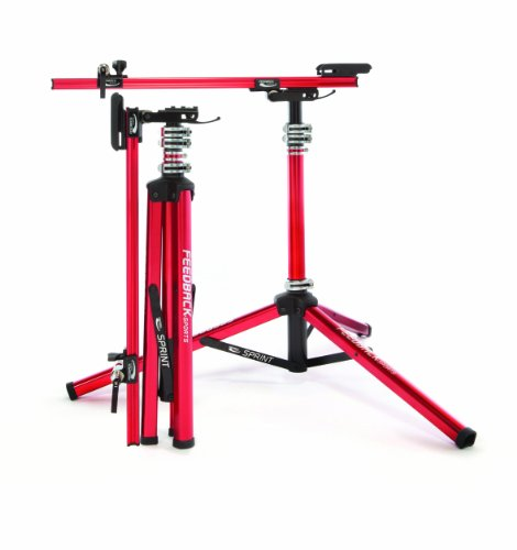 Feedback Sports Sprint Work Stand, Red]()
