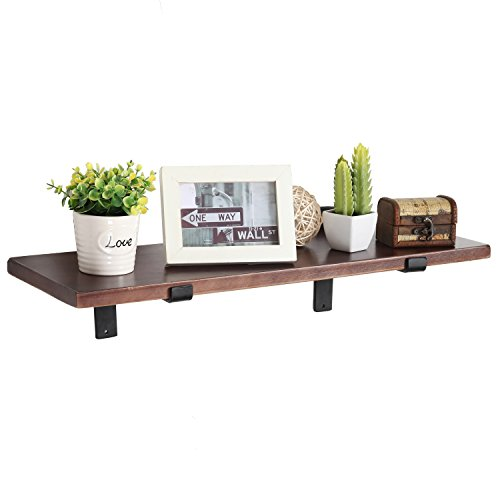 MyGift Mounted Floating Shelf Brackets