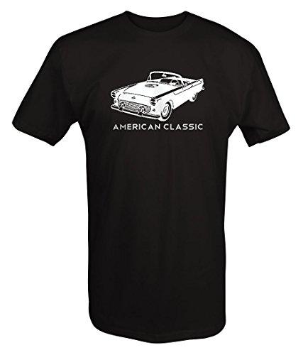American Classic Convertible Chevy Bel Air 50's 60'sT shirt - 2XL Bel Air Classic Car T-shirt