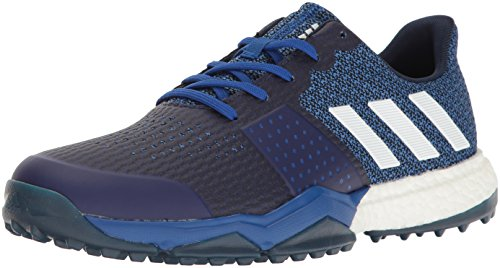 adidas Men's Adipower S Boost 3 Golf Shoe, Blue, 10 M US