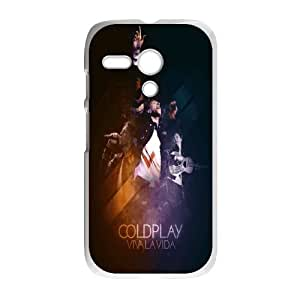 Motorola G Cell Phone Case White Coldplay Phone Case Cover Design Durable XPDSUNTR14686