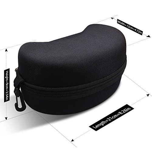 4196Hj28VwL - ZIONOR Ski Snowboard Goggles Box - Hard EVA Protection Carrying Case for Snow Sport