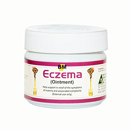 Eczema Ointment, 40gm, a Natural Treatment for Eczema, Psoriasis and Dermatitis, Instant Relief for Dry, Itchy Skin, Helps Minimize Scarring (Acne Scars Too), Doesn't Cause Stinging