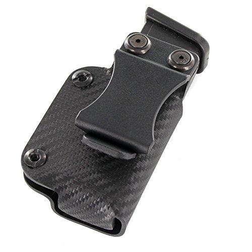 IWB Single Mag Holster - Black Carbon Fiber (Left-Hand IWB, Glock 30S)