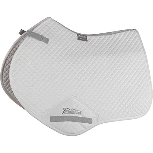Shires Performance Suede Jumping Pad 17-18 White