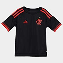 Camisa Adidas Flamengo Infantil Preta