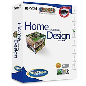 The best punch home landscape design suite with nexgen technology 20870 punch for Punch home design