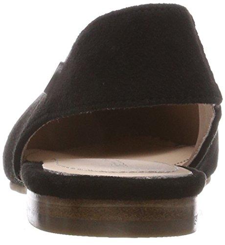 Marc OPolo Ballerina 80214003003304, Bailarinas con Tira de Tobillo Para Mujer Schwarz (Black)