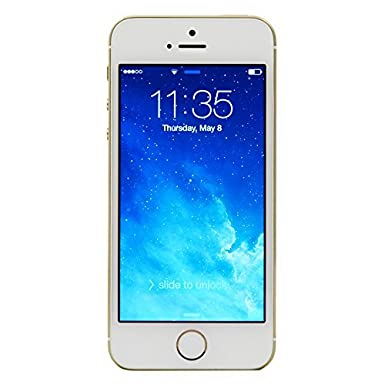 Apple iPhone 5S, GSM Unlocked, 64GB - Gold (Renewed)