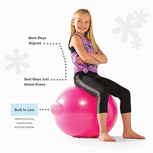 Marvelous Gaiam Kids Stay N Play Childrens Balance Ball Flexible Caraccident5 Cool Chair Designs And Ideas Caraccident5Info
