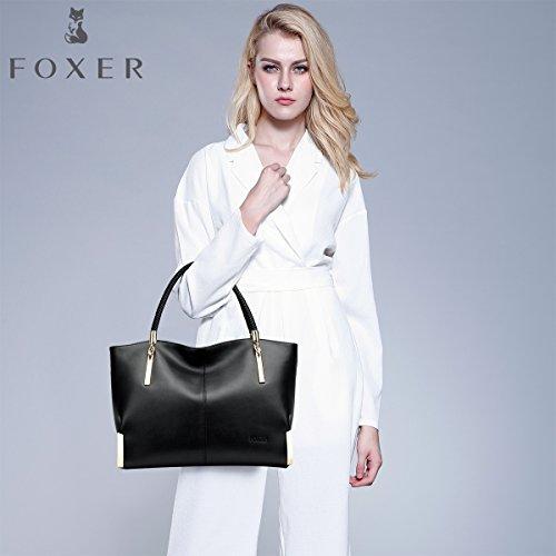 Foxer Mujer Foxer Bolsa Negro Bolsa rwgxqr