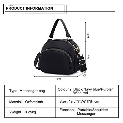 Handbags Multicolor Messenger Crossbody Multi Shoulder Women c Water Bags splash Tote Badiya Anti Purse bag Pocket wxpPqA6X