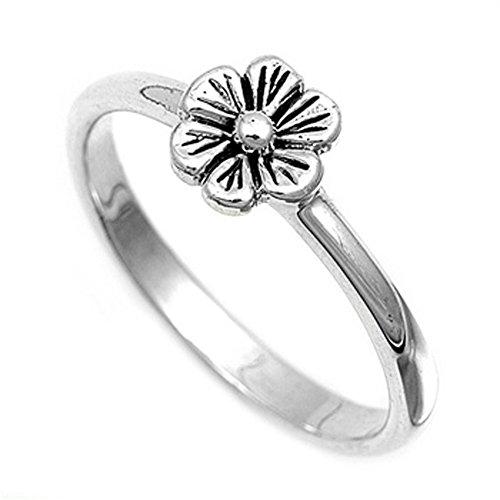 Unique Flower Ring - 9