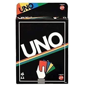 Amazon Uno Card Game Retro Edition By Mattel Toys Games