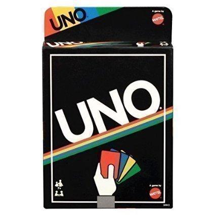 Mattel UNO Card Game - Retro Edition