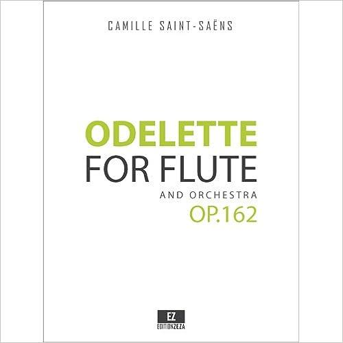 Book Odelette Op.162 for Flute and Orchestra (SET OF PARTS) SKU:EZ-2083-SP