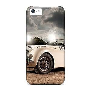 Tpu Case For Iphone 5c With GoldenArea Design