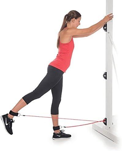 OPTP Bob and Brad - Anclajes de pared para ahorrar espacio para entrenamientos de gimnasio en casa | para entrenamiento de fuerza, fitness y terapia ...