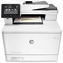 HP LaserJet Pro M477fdn Multifunction Color Laser Printer with Built-in Ethernet & Duplex Printing (CF378A) (Certified Refurbished)
