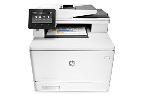 HP LaserJet Pro M477fdn Multifunction Color Laser Printer with Built-in Ethernet & Duplex Printing (CF378A) (Certified Refurbished)