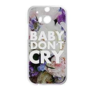 Baby don;t cry flowers personalized high quality cell phone case for HTC M8