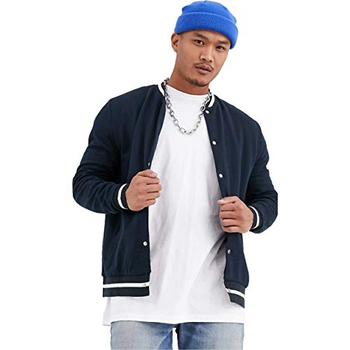 Be Savage plain navy bomber jacket for men and boys