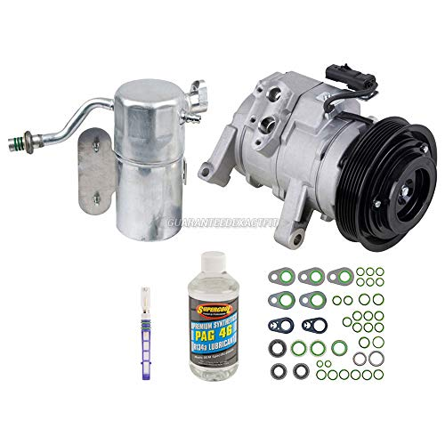 AC Compressor w/A/C Repair Kit For Dodge Dakota 2005 2006 2007 - BuyAutoParts 60-80313RK New