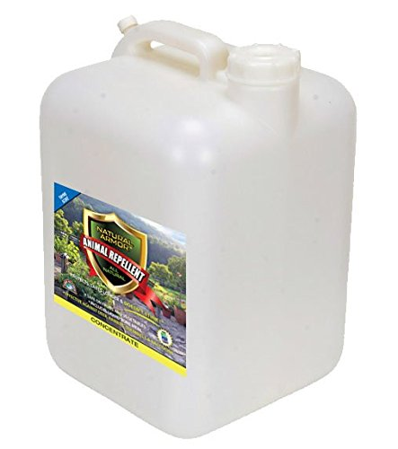 Natural Armor Animal Repellent - 2.5 Gallon - Thyme Scent - Concentrate (Critter Ridder Liquid)