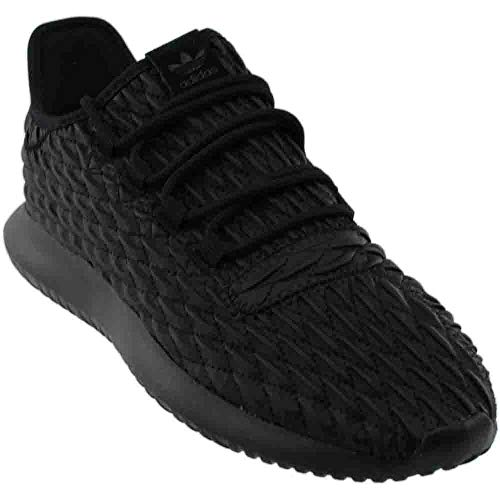 adidas Originals Men's Tubular Shadow Running Shoe, Black, 9 Medium US