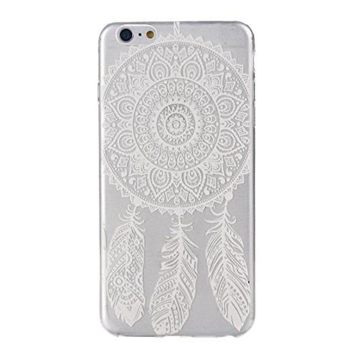 Sannysis für iphone 6 Plus 5,5 Zoll; Traumfänger-Blumen-Entwurfs-TPU Hülle